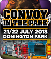 Trucks Convoy in the Park