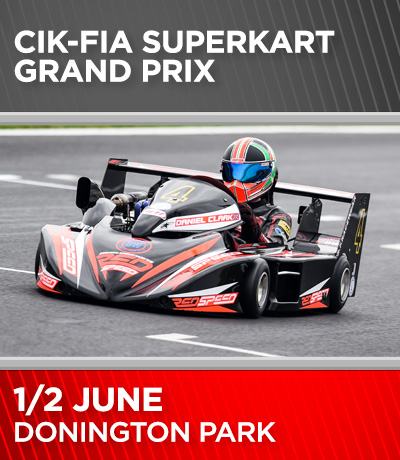 British Superkarts - Donington Park