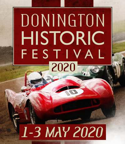 Image result for donington historic 2020 logo