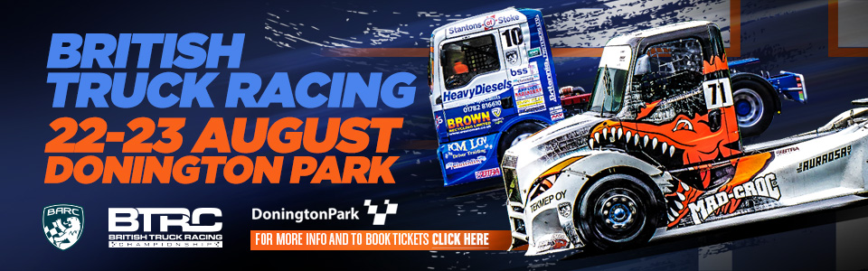 British Truck Racing - Donington Park